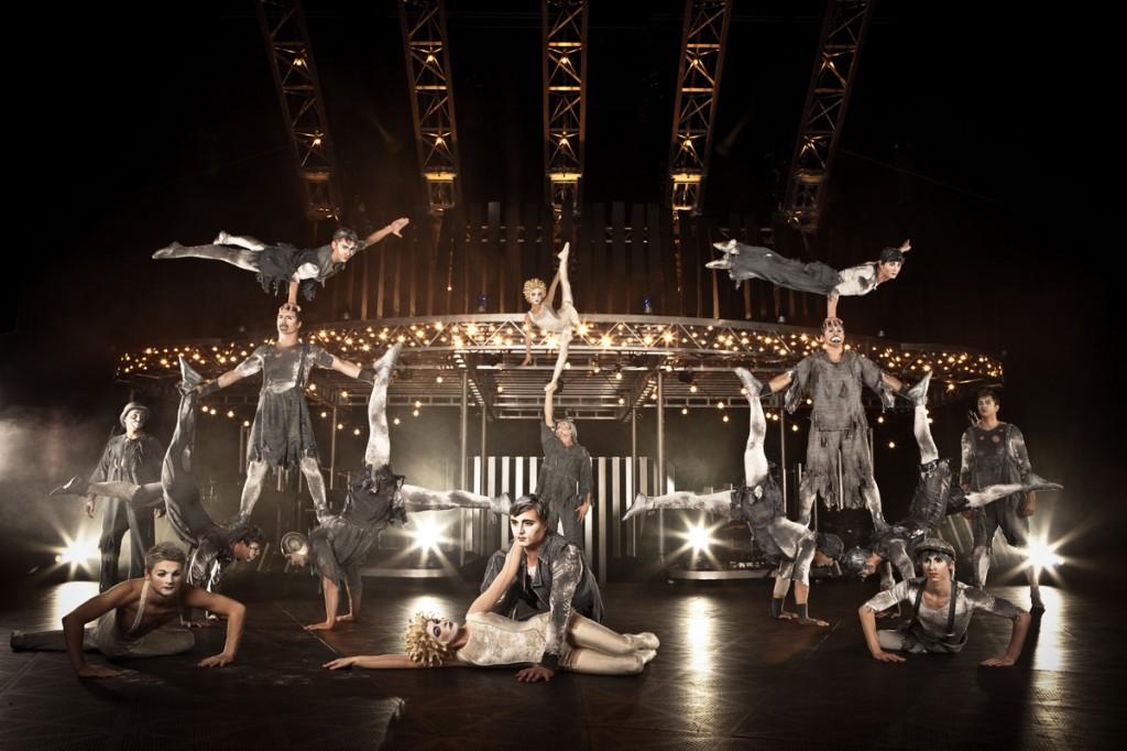 Quidam Cirque du soleil Paris Bercy POPB zénith de Lille spectacle musique live show banquine photo de Matt Beard