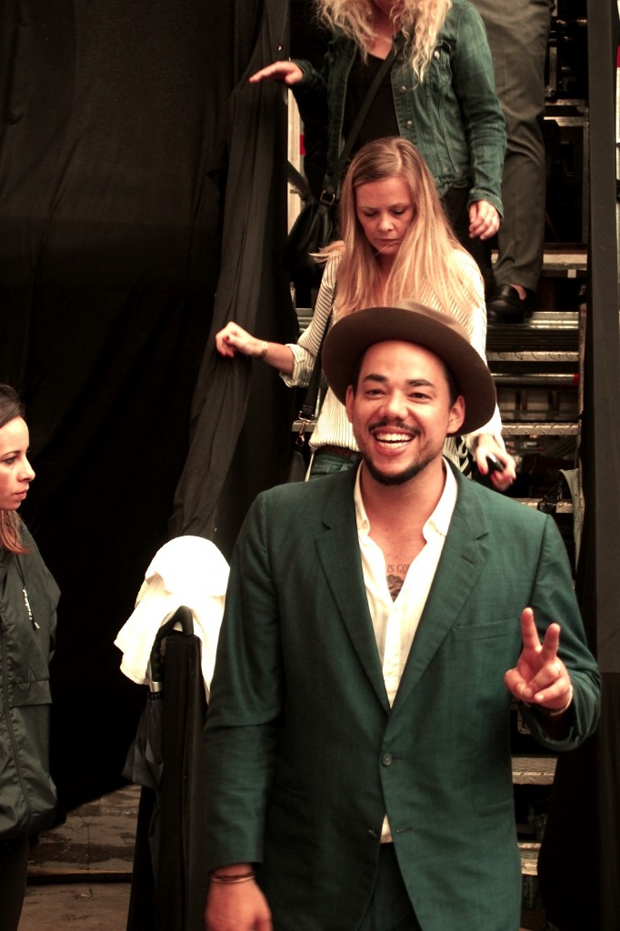 Ben l'Oncle Soul backstage après concert Festival Fnac Live 2014 tournée album photo by United States of Paris blog