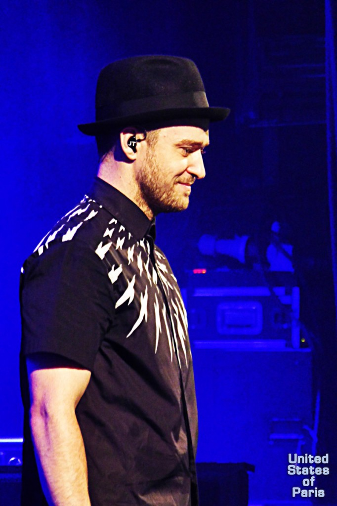 Justin Timberlake concert live show Paris France Olympia 2014 The 20 20 experience world Tour photo by United States of Paris blog