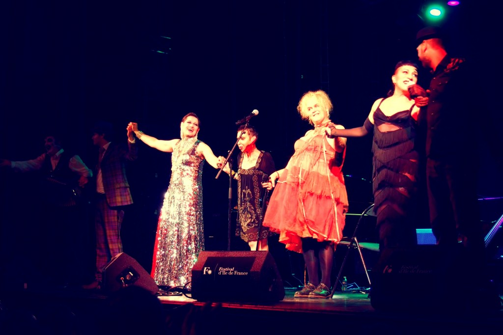 Miss Knife - Little Annie - Baby Dee - Joey Arias -The Tiger Lillies Festival Ile de France Le Trianon Paris photo by United States of Paris Blog