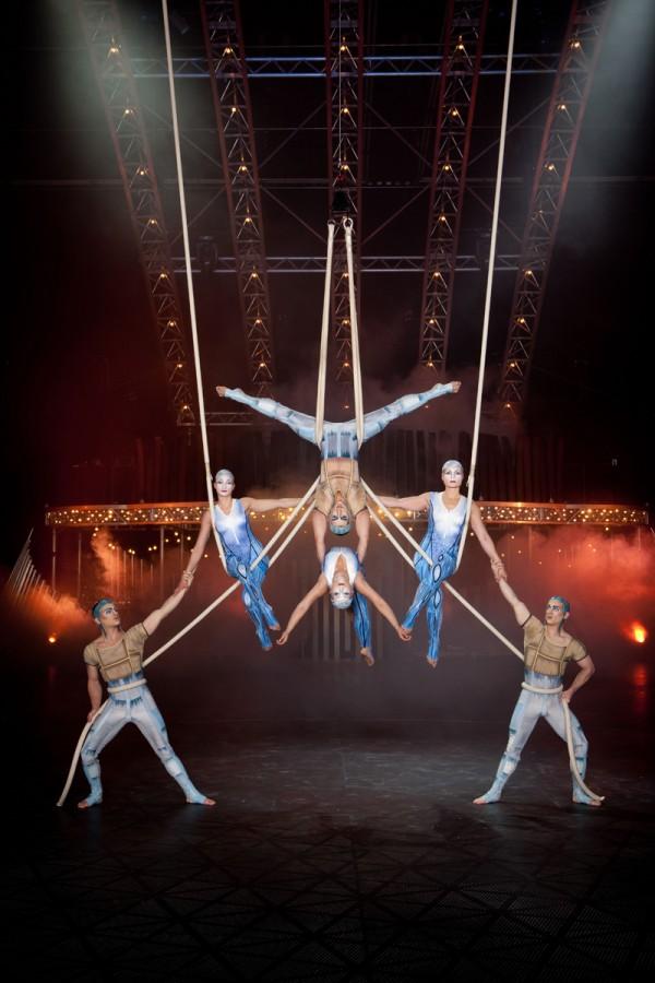 Quidam Cirque du soleil Paris Bercy POPB zénith de Lille spectacle musique live show corde lisse Photo de Matt Beard.