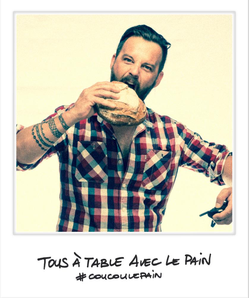 Selfie Laurent Favre-Mot chef patissier Marseille Festival Tous à Table avec le Pain photo